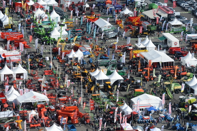 A wide variety of exhibitors at SPACE